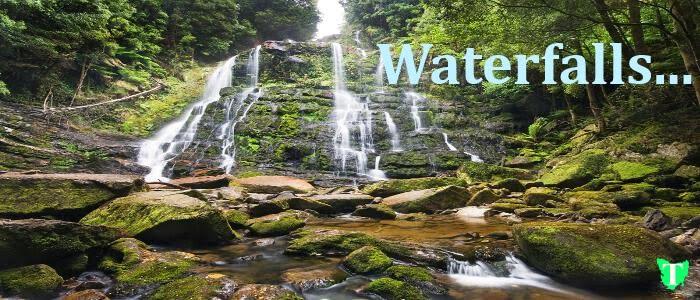 Waterfalls Tas Toours Tasmania Australia Nelson Falls Queenstown Tasmania